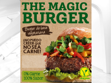Nueva Magic Burger, 100% vegetal